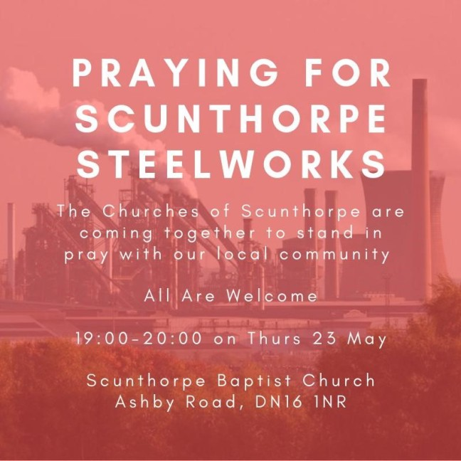 praying for Steelworks
